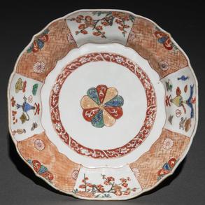 Plato en porcelana Imari, Siglo XIX