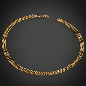 Cadena de eslabones en oro amarillo de 18 Kt.