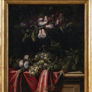 Bodegón de uvas e Higos