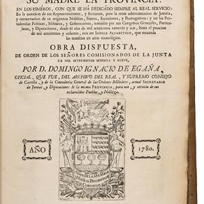 El Guipuzcoano Instruido en las Reales Cédulas, Despachos y Órdenes que ha venerado su madre la Provincia