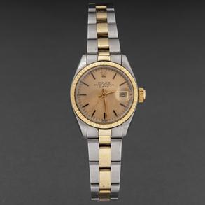 Reloj Rolex de mujer Date Just 78343 en acero y oro amarillo de 18 Kt.