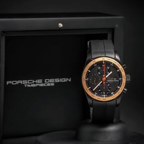 PORSCHE DESIGN CHRONOTIMER, Reloj nuevo a estrenar con estuche y documentación original