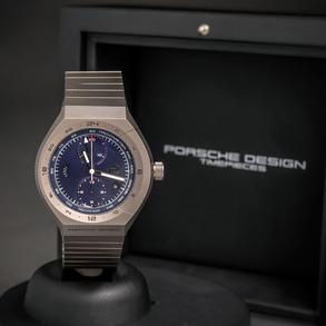 PORSCHE DESIGN MONOBLOC ACTUATOR GMT CHRONOTIME, Reloj nuevo a estrenar con estuche y documentación.