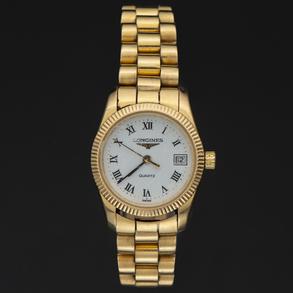 Longines - Reloj de mujer en oro amarillo de 18 Kt.