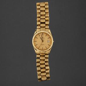 CYMA Reloj de caballero en oro amarillo de 18kt