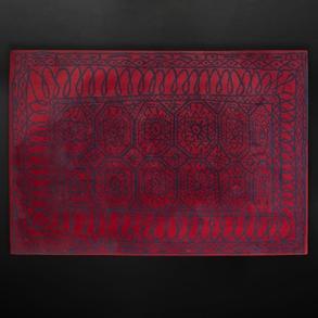 JAVIER MARISCAL (Valencia, 1950)  - Alfombra realizada en lana